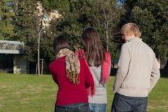Φοιτητές πανεπιστημίου Relax Στοκ Εικόνα