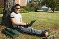φοιτητής πανεπιστημίου στοκ φωτογραφία με δικαίωμα ελεύθερης χρήσης