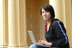 φοιτητής πανεπιστημίου Στοκ εικόνα με δικαίωμα ελεύθερης χρήσης