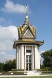 Φονικό μνημείο πεδίων, Καμπότζη στοκ εικόνες