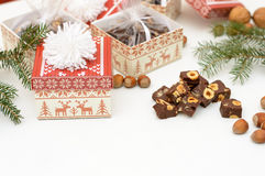Φοντάν Χριστουγέννων Στοκ Φωτογραφίες