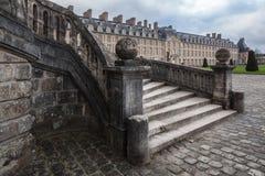 Φοντενμπλώ, Γαλλία - 16 Αυγούστου 2015: Εξωτερική άποψη Στοκ φωτογραφίες με δικαίωμα ελεύθερης χρήσης
