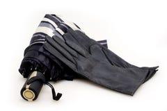 φορά γάντια parasols στις γυναίκ&epsilo Στοκ φωτογραφίες με δικαίωμα ελεύθερης χρήσης