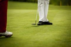 Φορέας γκολφ στην τρύπα Στοκ φωτογραφία με δικαίωμα ελεύθερης χρήσης