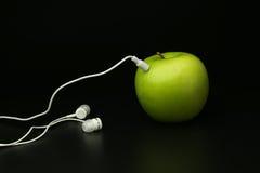 Φορέας της Apple στο Μαύρο Στοκ Εικόνες