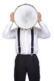 Φορέας τυμπάνων στοκ φωτογραφία με δικαίωμα ελεύθερης χρήσης