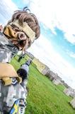 Φορέας Paintball Στοκ εικόνες με δικαίωμα ελεύθερης χρήσης