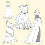 Φορέματα βραδιού γυναικών Στοκ Φωτογραφίες