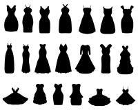 Φορέματα κοκτέιλ Στοκ φωτογραφία με δικαίωμα ελεύθερης χρήσης