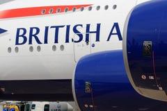3 φορές βρετανική αεροπορία Στοκ φωτογραφία με δικαίωμα ελεύθερης χρήσης