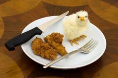 φορέστε με τρώει όχι παρακαλώ Στοκ φωτογραφία με δικαίωμα ελεύθερης χρήσης