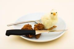 φορέστε με τρώει όχι παρακ&alp Στοκ εικόνα με δικαίωμα ελεύθερης χρήσης