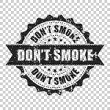 Φορέστε τη σφραγίδα γρατσουνιών καπνού ` τ grunge Διανυσματική απεικόνιση επάνω ελεύθερη απεικόνιση δικαιώματος