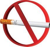 φορέστε τον καπνό τ Στοκ Εικόνα
