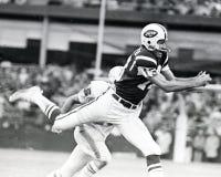Φορέστε Maynard, ευρύς δέκτης των New York Jets Στοκ Εικόνα