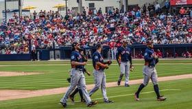 2017 φορείς των Houston Astros Στοκ εικόνα με δικαίωμα ελεύθερης χρήσης