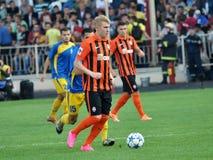 Φορείς FC Shakhtar_2 Στοκ φωτογραφία με δικαίωμα ελεύθερης χρήσης