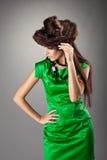 φορεμάτων πράσινη τριχώματο Στοκ Εικόνες