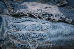Φορεμένος παλαιός Jean στοκ εικόνες
