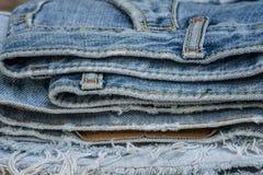Φορεμένος παλαιός Jean στοκ εικόνα