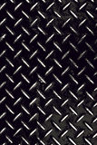 Φορεμένο πιάτο Grunge διαμαντιών Στοκ εικόνα με δικαίωμα ελεύθερης χρήσης