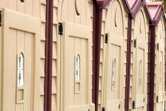 φορητές τουαλέτες Στοκ εικόνα με δικαίωμα ελεύθερης χρήσης