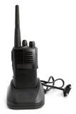 Φορητή ραδιο συσκευή αποστολής σημάτων με το φορτιστή Στοκ Φωτογραφίες