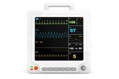 Φορητός καρδιακός εξοπλισμός ελέγχου υγειονομικής περίθαλψης απεικόνιση αποθεμάτων
