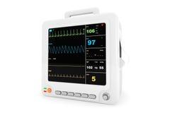 Φορητός καρδιακός εξοπλισμός ελέγχου υγειονομικής περίθαλψης ελεύθερη απεικόνιση δικαιώματος