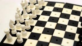 Φορητός πίνακας σκακιού 1 Στοκ Εικόνα