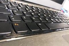 Φορητός προσωπικός υπολογιστής keybord για την τεχνολογική έννοια Στοκ εικόνα με δικαίωμα ελεύθερης χρήσης