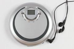 Φορητό μηχάνημα αναπαραγωγής CD Στοκ φωτογραφία με δικαίωμα ελεύθερης χρήσης