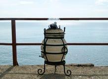 Φορητό tandoor στοκ εικόνα με δικαίωμα ελεύθερης χρήσης