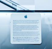 Φορητών προσωπικών υπολογιστών της Apple MacBook Pro Στοκ εικόνες με δικαίωμα ελεύθερης χρήσης