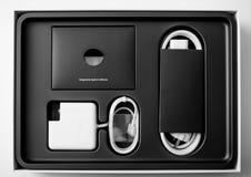 Φορητών προσωπικών υπολογιστών της Apple MacBook Pro Στοκ Εικόνες