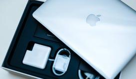 Φορητών προσωπικών υπολογιστών της Apple MacBook Pro Στοκ Εικόνα