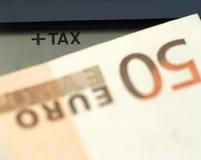 φορολογικός χρόνος έννο&iot Στοκ φωτογραφίες με δικαίωμα ελεύθερης χρήσης