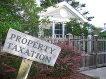 Φορολογία ιδιοκτησίας Στοκ Εικόνες
