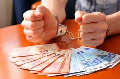 Φορολογική απάτη Στοκ φωτογραφίες με δικαίωμα ελεύθερης χρήσης