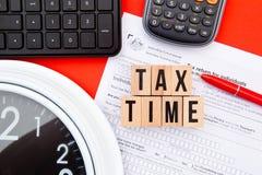 Φορολογικός χρόνος - Αυστραλία Στοκ Φωτογραφίες