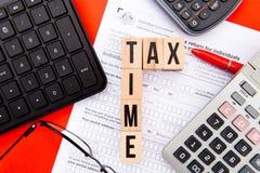 Φορολογικός χρόνος - Αυστραλία Στοκ Εικόνα