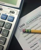 Φορολογικός χρόνος ΙΙ στοκ φωτογραφία με δικαίωμα ελεύθερης χρήσης