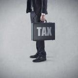 Φορολογικός χρόνος πάλι Στοκ Εικόνες