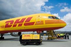 φορτίο αεροσκαφών Στοκ Φωτογραφία