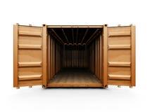 φορτίο εμπορευματοκιβωτίων Στοκ Εικόνα