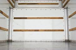 φορτίο μέσα στο truck Στοκ εικόνα με δικαίωμα ελεύθερης χρήσης