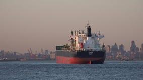 Φορτηγά πλοία, ναυλωτές, σκάφη εμπορευματοκιβωτίων, βάρκες απόθεμα βίντεο