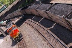 Φορτηγά τρένα Στοκ Εικόνες