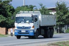 Φορτηγό απορρίψεων του ημιτόνου PNS στοκ φωτογραφίες με δικαίωμα ελεύθερης χρήσης