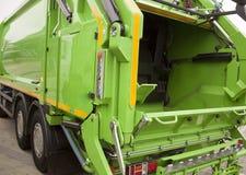 Φορτηγό απορριμάτων Στοκ φωτογραφίες με δικαίωμα ελεύθερης χρήσης